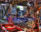 A look inside an Abandoned Saw Mill in New Jersey