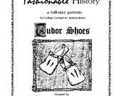 Tudor Square Toed Shoe Pattern