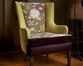 theDesiree Wingback Chair - Redressed vintage with sleek playful sophistication
