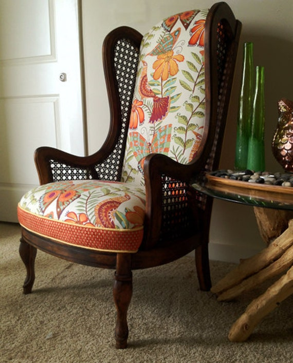 theMegan - Funky Cane Wingback chair