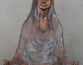 Bronze Sculpture: Shanti
