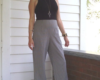SALE!!!! Awesome 50's Jumpsuit Houndstooth Sz XS to SM