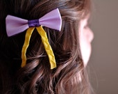 Rapunzel inspired bow