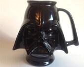 Vintage Star Wars Darth Vader Ceramic Mug RARE Rumph 20th century fox 1977 Dads and Grads
