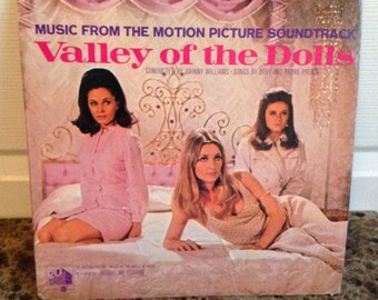 Valley of the Dolls RARE Movie Soundtrack Vintage Vinyl Record S4196 Fab