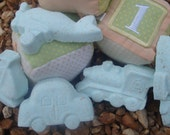 Unique Handmade Baby Shower Favors, Birthday Party Favors, 15 Bath Bombs