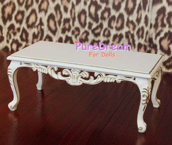 1 6 Barbie Furniture Wooden Coffee Tea Table Square By Granfyliu