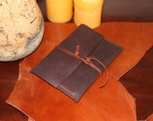 Brown Oil-Tanned Leather Kindle Fire Case