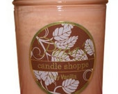 Soy Candles Scented Very Vanilla 8 oz Jelly Jar
