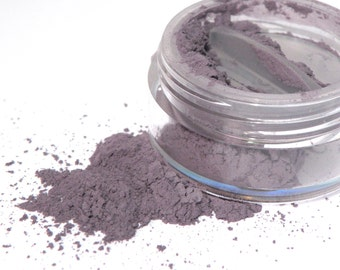 Violet Bella Matte Color . Mineral Eyeshadow . Dusty Violet . Purple . Eye Shadow . Loose Mineral Makeup