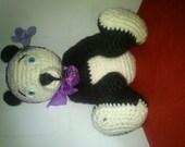 ooak crochet bear