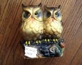 Ceramic Wise Owl Bank
