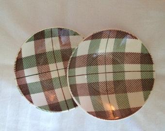 Homer Laughlin Dura Print Dundee Berry Bowls Rhythm Shape 1950s Shabby Chic - Set of 7 - 1950s