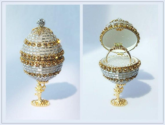 items similar to jewelry box jewelry ring box unique