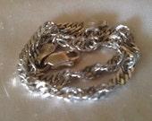 925 .925 Sterling Silver Precious Metal 7 1/2 Inch x 4 mm. 3.66 gram Singapore Bracelet