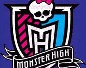 Monster High Water Bottle Label Set - Digital - Special Price