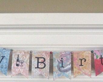 Happy Birthday Paper Banner