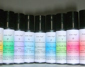 SALE: Life Path Numerology Botanical Perfume Roll Ons - set of 9 Numerology Signs