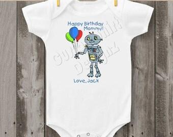 Robot Carter's Bodysuit