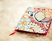 Rainbow Garden Moleskine Journal Cover with FREE Notebook