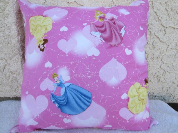 Decorative Princess Pillows : 16x16 inch Disney Princess Decorative Pillow Cover