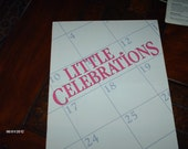 Little Celebrations in counted cross stitch