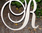 "10"" Large  Wooden Wall Letters - Monogram Letters- Wedding Decor Letters"