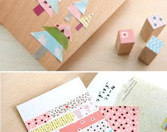 Life Planner Masking Sticker Sheets  - 15 Sheets Set - Great for Project Life!