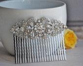 bridal hair comb, wedding hair accessories, bridal hair accessories, rhinestone comb, hair comb, wedding hair comb, crystal hair comb