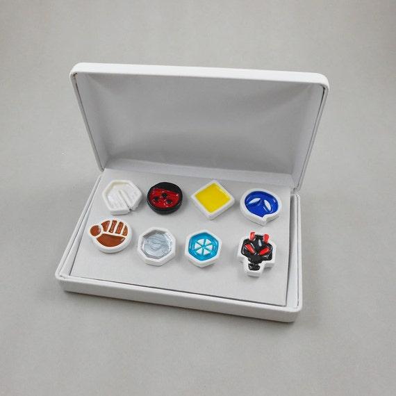 Pokemon Gym Badge Set - Johto Region