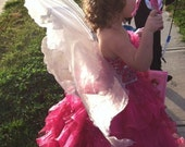 Small Fairy, Faerie, Costume Angel Wings, Renaissance Wedding Dress up Wings FREE SHIPPING in US