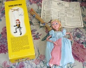 Beautiful Cinderella Puppet by Pelham Puppets Made in England Marionette
