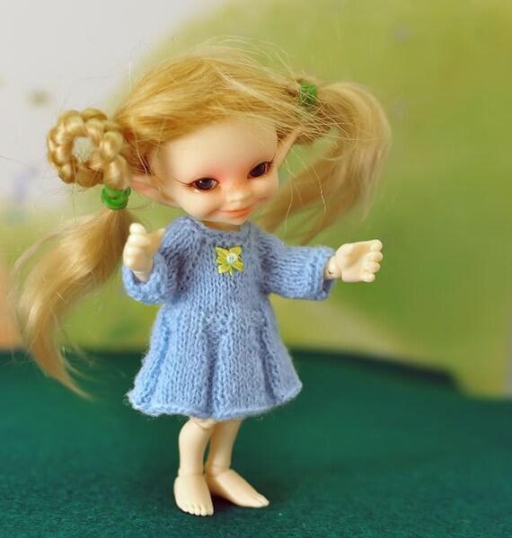 Knit dress for realpuki