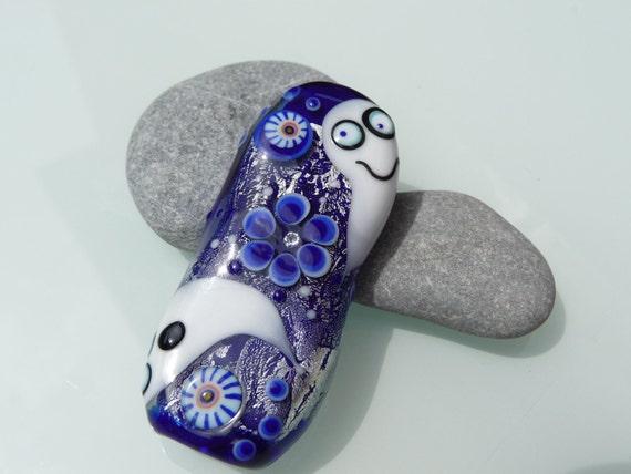 Casper - Ghost bead by Ulrike Dietrich
