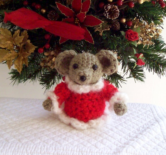 Crochet Christmas Bear