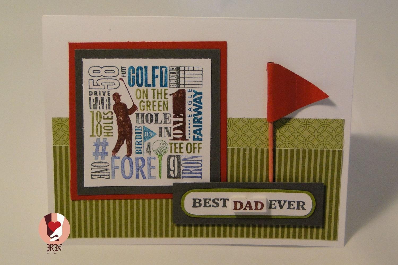 Handmade Birthday Card 'Best Dad Ever' in by RaaNiCreations