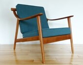 Reserved for Jennifer: Vintage Danish Teak Lounger