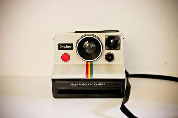 "Polaroid Rainbow ""One Step"" Land Camera"