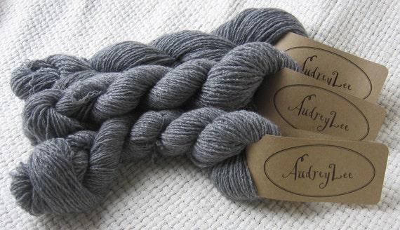 Reclaimed 100% Cashmere Fingering Weight Yarn, More than 350 yards