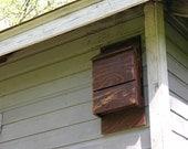 Bat House with Walnut Finish