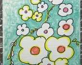 ACEO Original designs, cheery and colorful illustrations
