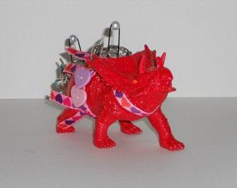 Dinosaur Jewelry Holder Ring Holder Triceratops Geekery