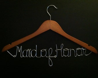 WINTER SALE 15% OFF -- Maid of Honor Hanger