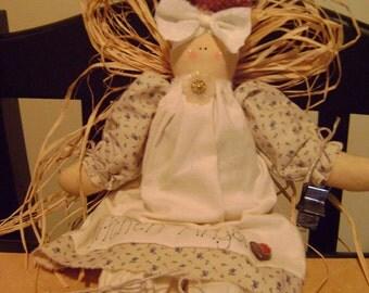 KITCHEN ANGEL cloth doll