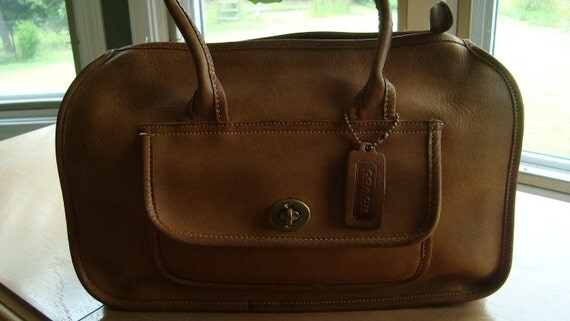 RESERVED FOR MD13 - Coach Vintage Bonnie Cashin Tan Leather Satchel - One of a Kind