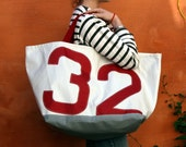 Tote bag recycled sailcloth