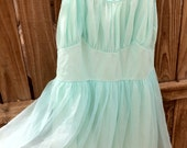 Shear and Soft Tiffany's Blue Dress