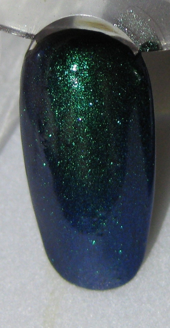 Unicorn Duochrome Color Shifting Top Coat Custom Nail Polish 5mL