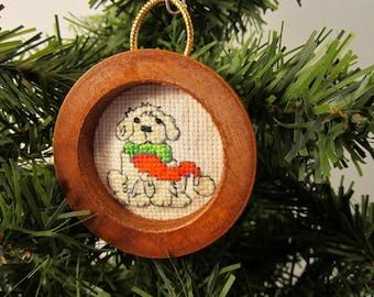 Man's Best Friend Christmas Tree Ornament