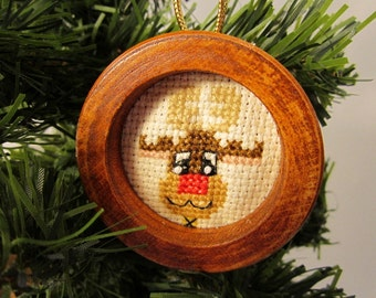 Rudolph Christmas Tree Ornament